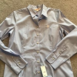 Brooks brothers stripe blouse